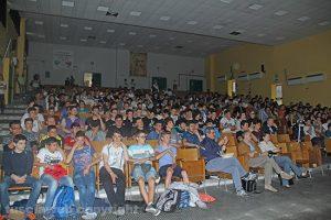 Gli studenti dell'istituto Da Vinci alla presentazione del libro di Nada