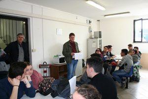 Tarquinia - Gli studenti del Cardarelli durante il corso Asl