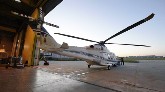 Elicottero Polizia : Gli elicotteri della polizia negli scatti di massimo