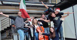 """Gli studenti dell'istituto """"C.A. Dalla Chiesa"""" di Montefiascone"""