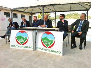 Il presidente della regione Nicola Zingaretti a sostegno di Anima Orte
