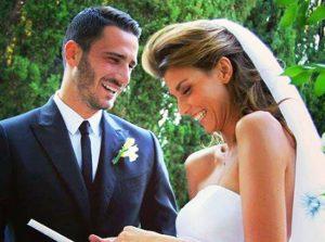 Il matrimonio di Leonardo Bonucci e Martina Maccari