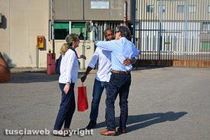 Rudy Guede fuori dal carcere di Mammagialla