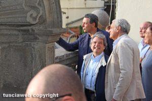 Giulio Marini, Giovanni Arena e Renato Brunetta