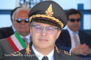 Il comandante dei vigili del fuoco Giuseppe Paduano