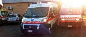 L'ambulanza della Misericordia di Pescia Romana