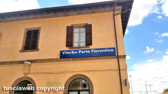 Viterbo - La stazione di Porta Fiorentina