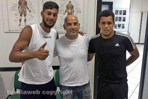 Sport - Calcio - I giocatori della Lazio a Vetralla