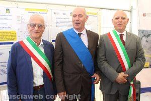 Trasversale - Il sindaco di Vetralla Coppari, quello di Tarquinia Mazzola e di Monte Romano, Testa