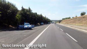 Superstrada - Controlli della polizia stradale