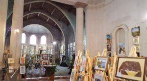 Viterbo - La mostra della scuola di arti visive Next