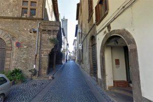 Viterbo - Via Orologio Vecchio