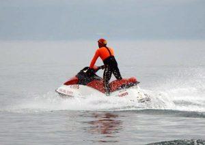 Vigili del fuoco - Una moto d'acqua