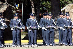 Viterbo - Scuola marescialli aeronautica - Cerimonia d'avvicendamento