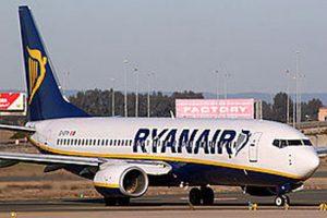 Un aereo della Ryanair