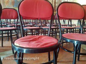 Viterbo - La sala regia
