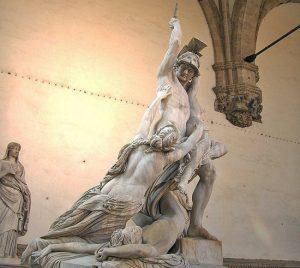 Firenze - Il Ratto di Polissena del viterbese Pio Fedi
