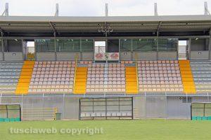 Sport - Calcio - Viterbese - Lo stadio Enrico Rocchi