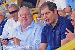 Sport - Calcio - Viterbese - Il patron Piero Camilli col figlio Luciano