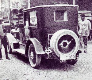 La Lancia Lambda sulla quale fu caricato Giacomo Matteotti