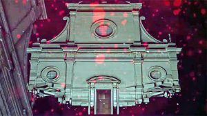 Viterbo - San Lorenzo - Video mapping, alcuni frammenti
