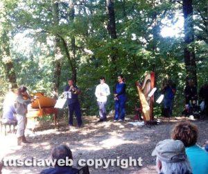 Concerto del mattino alla riserva naturale del lago di Vico