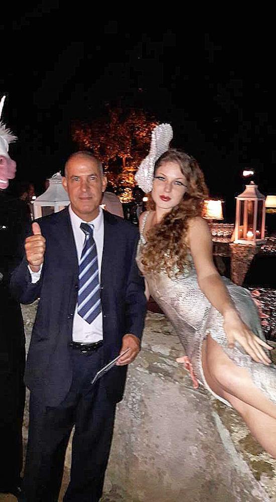 fabian lampadari : Il colorato matrimonio di Marco e Fabiana Ruspoli - Tusciaweb.eu
