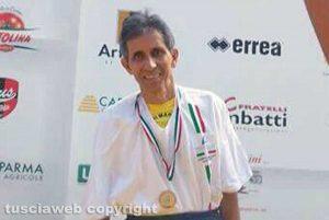 Sport - Rolando Di Marco alla mezza maratona di Parma