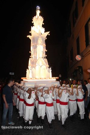 Viterbo - Minimacchina centro storico - Luce di Rosa