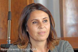 Sonia Perà, assessora allo Sviluppo economico e alle Attività produttive e agroalimentari del comune di Viterbo