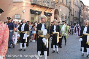 Viterbo - Santa Rosa - Corteo storico 2016 - La mazza del maggiordomo