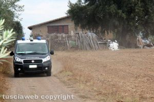 Tuscania – Omicidio Angelo Gianlorenzo – I Ris in località San Savino