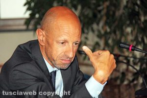 Viterbo - Il rettore dell'Unitus Alessandro Ruggieri