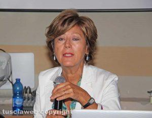 Viterbo - La dirigente Maria Antonietta Bentivegna