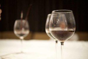 Un bicchiere di vino