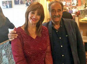 Silvia Somigli col segretario nazionale Turi