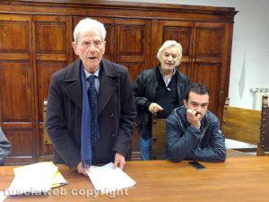 Viterbo - Domenico Belli in terza commissione