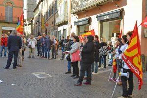 Viterbo - Lo sciopero Usb