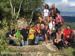 Foto di gruppo a Corviano