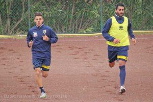 Sport - Calcio - Viterbese - Ansini e Mallus sul campo del Pilastro
