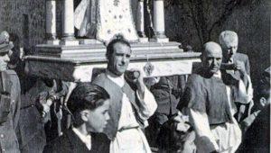 Sipicciano - Madonna della Misericordia - Processione fine anni '50