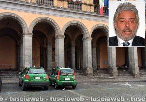 Operazione Vox Populi - La forestale al comune di Acquapendente - Nel riquadro l'avvocato Enrico Valentini