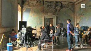 """Palazzo Farnese a Caprarola nella serie tv """"I Medici"""""""