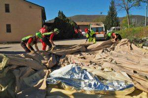 Terremoto - Le operazioni del Soccorso Alpino e Speleologico in Italia centrale