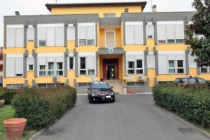 Tuscania - La caserma dei carabinieri
