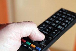 Telecomando della televisione