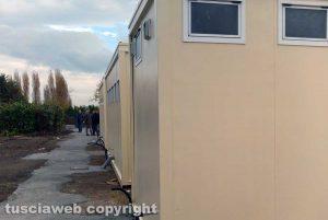 Viterbo - Migranti - Il centro d'accoglienza all'ex fiera