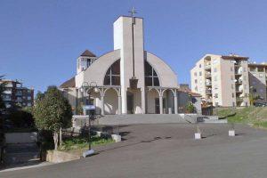 Tarquinia - La chiesa Madonna dell'Ulivo