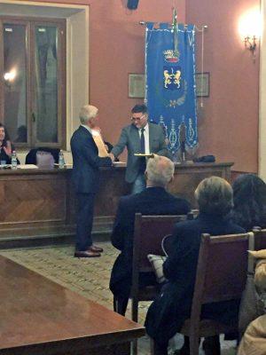 Ronciglione - Civica benemerenza a Sandro Altissimi e all'atleta Alfredo Stella