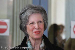 Angela Gentile, mamma di Attilio Manca all'uscita dal tribunale
